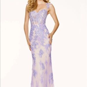 Mori Lee Beautifully Beaded Lace Dress
